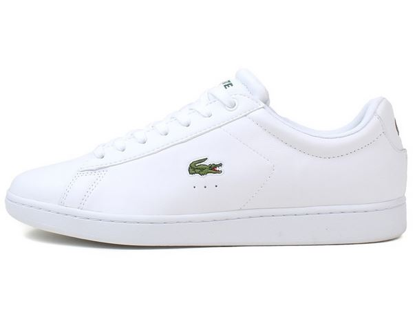 52be7be7c35b Fede lacoste sneakers med all white tema og cool farve