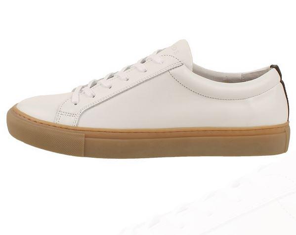 LAv sneaker hvid med brun gummi bund fra legend resort
