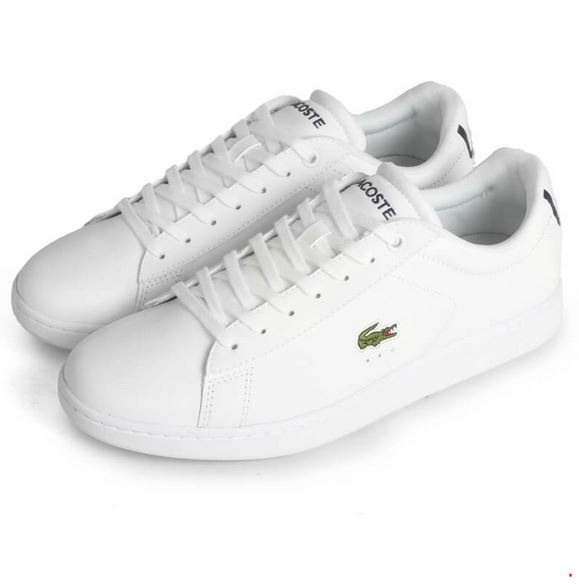 3bbd9b3583e Lacoste Carnaby Leather • Hvide Sneakers